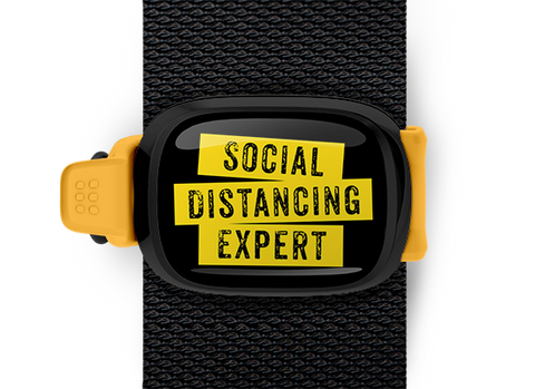 Social Distancing Expert <br> Stwrap Bag Tag