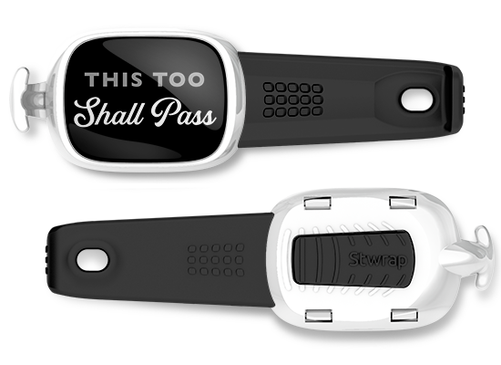 This Too Shall Pass <br> Stwrap Bag Tag