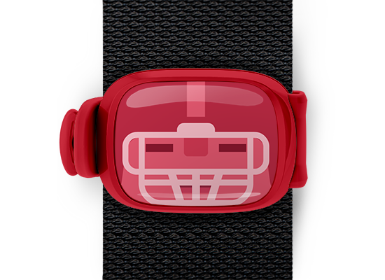 Stwrap Character Red Football Player - Stwrap