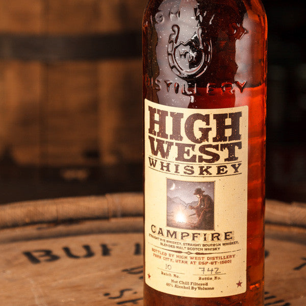 High West Whiskey is a high-quality whiskey made in Utah. Celebrate World Whiskey Day in Utah! world whiskey day Celebrate World Whiskey Day in Utah... While you can! High West Whiskey Campfire
