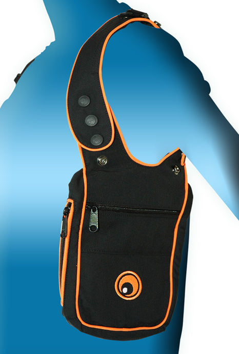 Shoulder Holster : Black + Orange