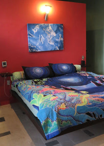 King-size Bedset : Space Jungle - Accessories - Bedding - Space Tribe