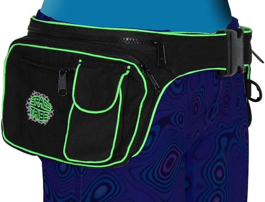 Utility Belt : Black/UV Lime - Accessories - Belts - Space Tribe