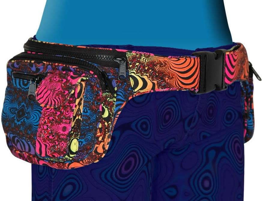 Utility Belt : Rainbow Fractal - Accessories - Belts - Space Tribe