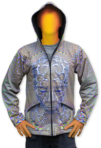 Sublime Hooded  Jacket : Micro Macro - Men Jackets - Space Tribe