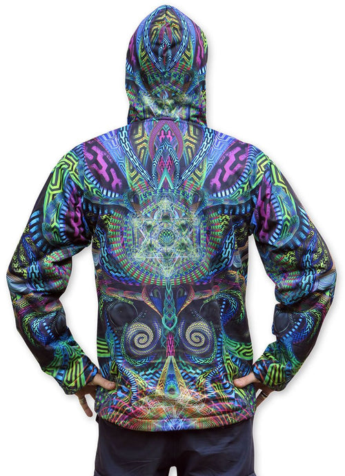 Sublime Hooded  Jacket : Primordial Presence - Men Jackets - Space Tribe