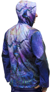 Sublime Hooded  Jacket : Serpentine Apotheosis - Men Jackets - Space Tribe