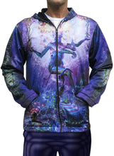 Load image into Gallery viewer, Sublime Hooded  Jacket : Serpentine Apotheosis - Men Jackets - Space Tribe