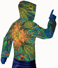 Load image into Gallery viewer, Hooded Zip Jacket : PolyMorph - Men Jackets - Space Tribe