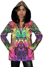 Load image into Gallery viewer, Womens Hooded Jacket : Alpha Centauri