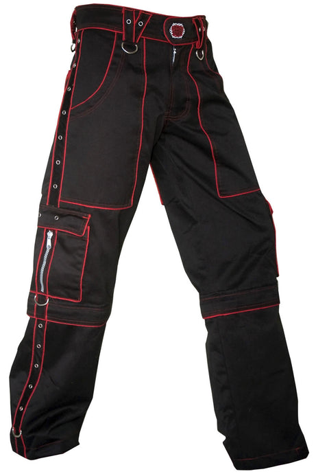 Rip Zips : Black & Red