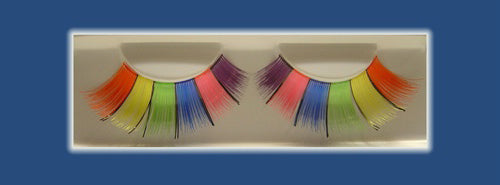 Eyelashes Pride Rainbow