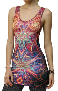 Sublime Tank Girl : Divine Seraphim - Women Tops - Space Tribe