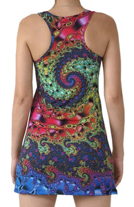 Sublime Tank Girl : Whirlpool Fractal - Women Tops - Space Tribe
