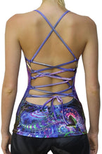 Load image into Gallery viewer, Sublime Kali Top : Serpentine Apotheosis - Women Tops - Space Tribe
