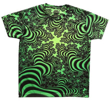 Load image into Gallery viewer, UV Sublime S/S T : Lime Valley Fractal - Men T-Shirts - Space Tribe