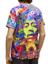 Load image into Gallery viewer, Sublime S/S T : Flower Power - Men T-Shirts - Space Tribe