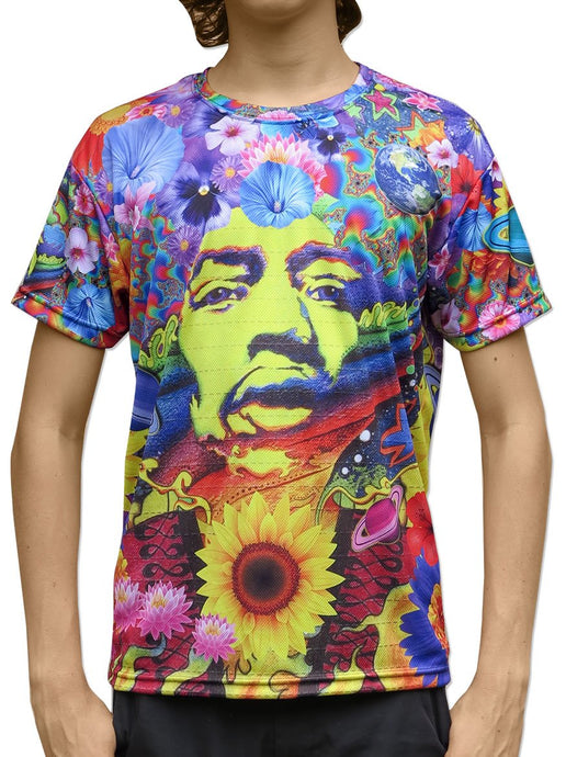 Sublime S/S T : Flower Power - Men T-Shirts - Space Tribe