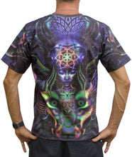 Load image into Gallery viewer, Classic S/S T : Foxy Lady - Men T-Shirts - Space Tribe