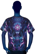 Load image into Gallery viewer, Classic S/S T : Violet Foxy Lady - Men T-Shirts - Space Tribe