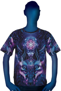 Classic S/S T : Violet Foxy Lady - Men T-Shirts - Space Tribe