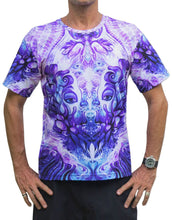 Load image into Gallery viewer, Classic S/S T : Purple Plasm - Men T-Shirts - Space Tribe
