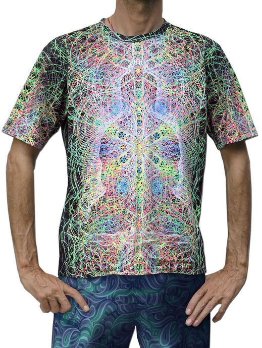 Classic S/S T : Rainbow Buddha - Men T-Shirts - Space Tribe