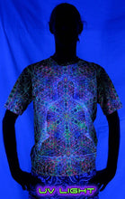 Load image into Gallery viewer, Classic S/S T : Rainbow Buddha - Men T-Shirts - Space Tribe