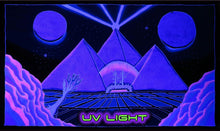 Load image into Gallery viewer, UV Wallhanging : Space Pyramid - UV Wallhangings - Space Tribe