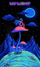 Load image into Gallery viewer, UV Wallhanging : Mushroom Fairy - UV Wallhangings - Space Tribe