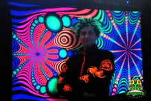 Load image into Gallery viewer, UV Wallhanging : Psyblaster Rainbow - UV Wallhangings - Space Tribe