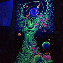 Load image into Gallery viewer, UV Wallhanging : Nature's Embrace - UV Wallhangings - Space Tribe