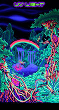 Load image into Gallery viewer, UV Wallhanging : Rainbow Falls - UV Wallhangings - Space Tribe