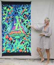 Load image into Gallery viewer, UV Wallhanging : PsyAlaska Fairy - UV Wallhangings - Space Tribe