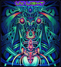 Load image into Gallery viewer, UV Banner : PsyAlaska Nymph - UV Banners - Space Tribe