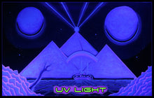 Load image into Gallery viewer, Giant UV Banner : Space Pyramid - UV Giant Banners - Space Tribe