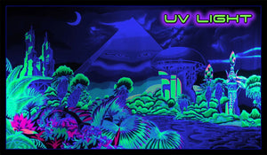 Giant UV Banner : Futurama - UV Giant Banners - Space Tribe