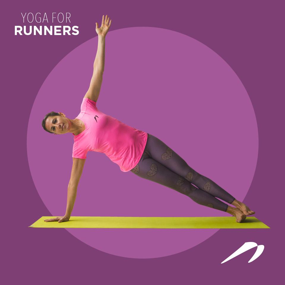 Yoga para runners: TABLÓN LATERAL