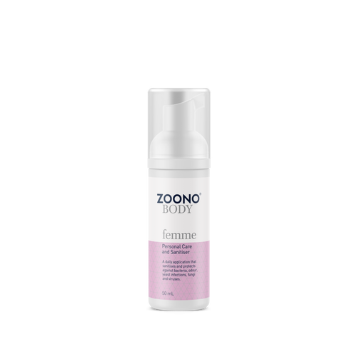 Femme Care & Sanitiser Foam | All Sizes - Zoono