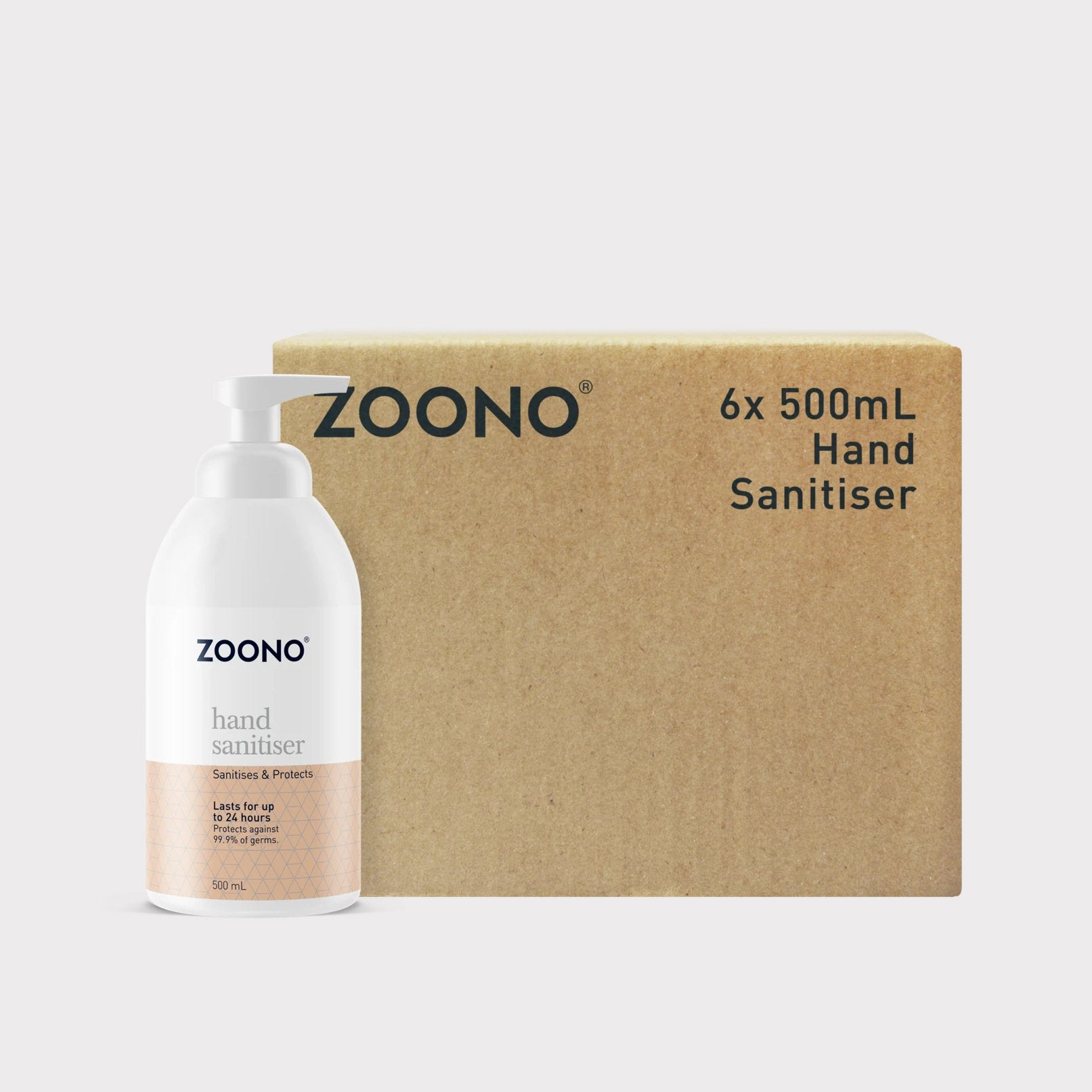 Hand Sanitiser Bulk Pack - 500ml x 6