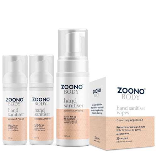 Hand Sanitiser Pack | 4 Items - Zoono