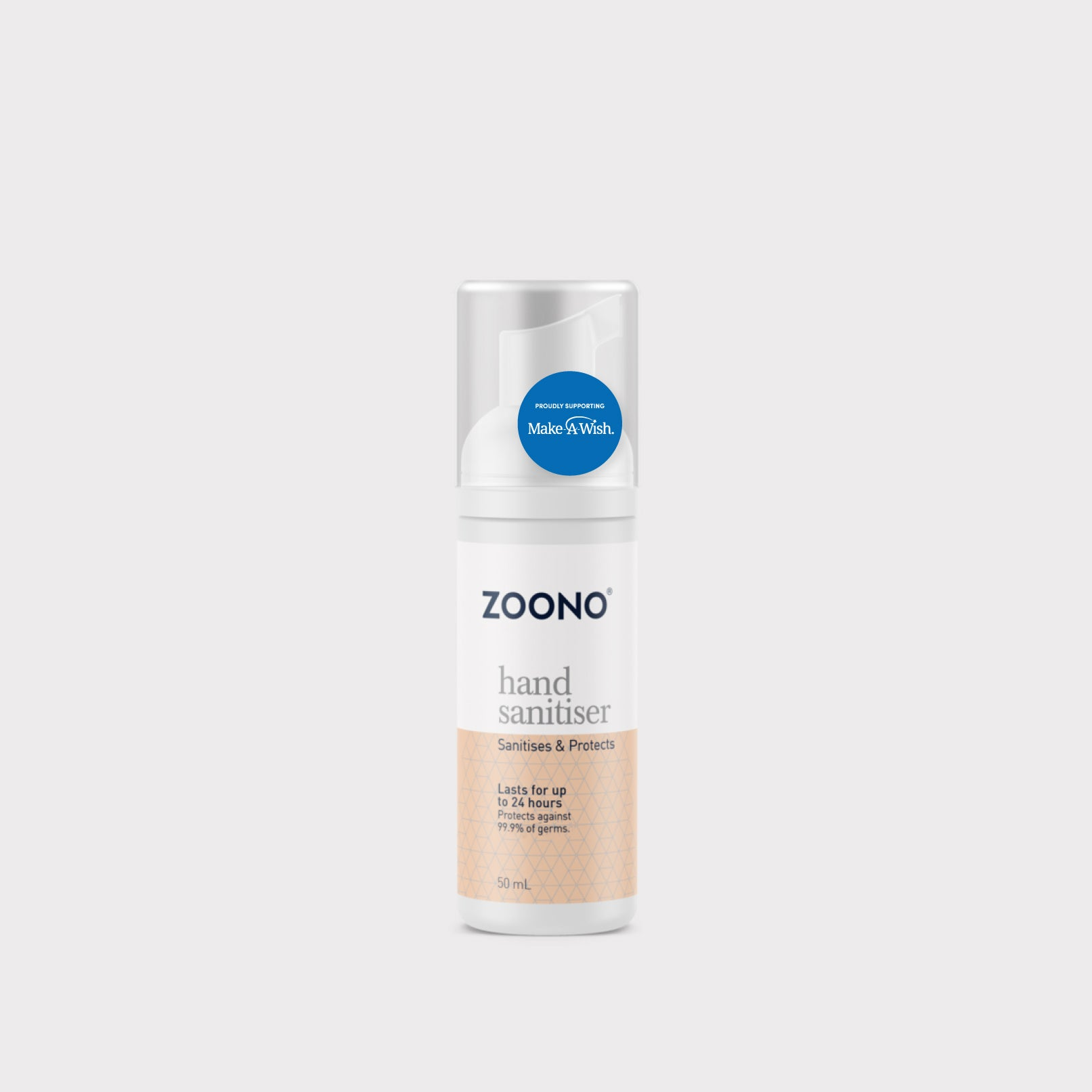Zoono Hand Sanitiser for Make-A-Wish - 50mL