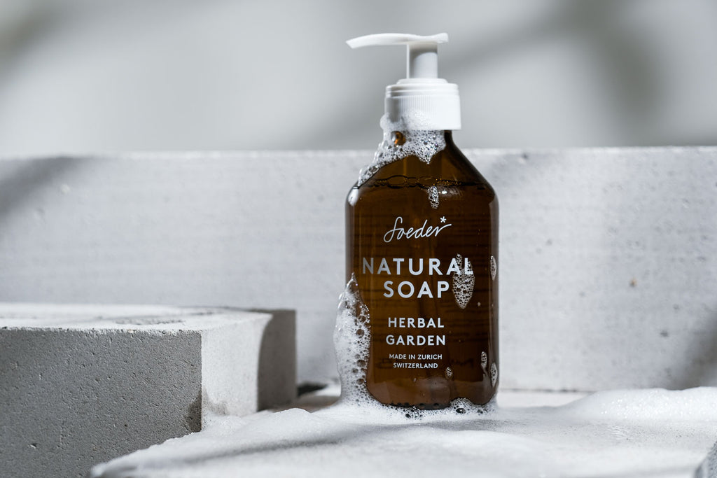 OUR NATURAL SOAP IS NATURALLY ANTIBACTERIAL