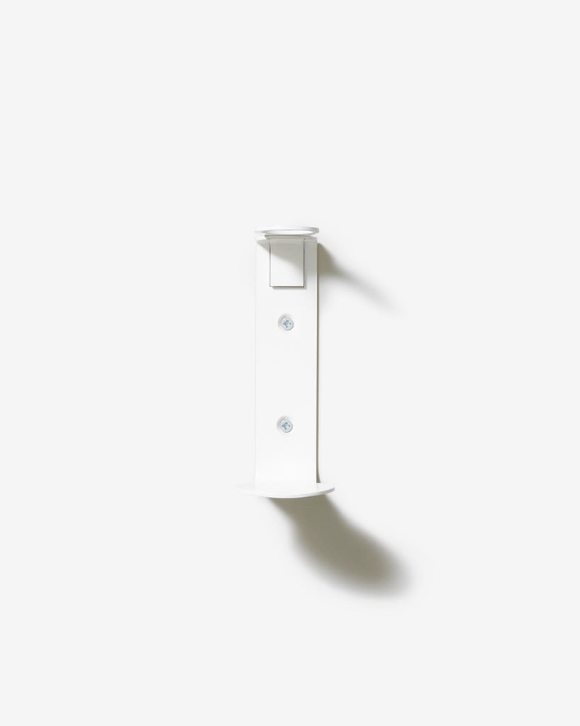WALL HOLDER 02 WHITE