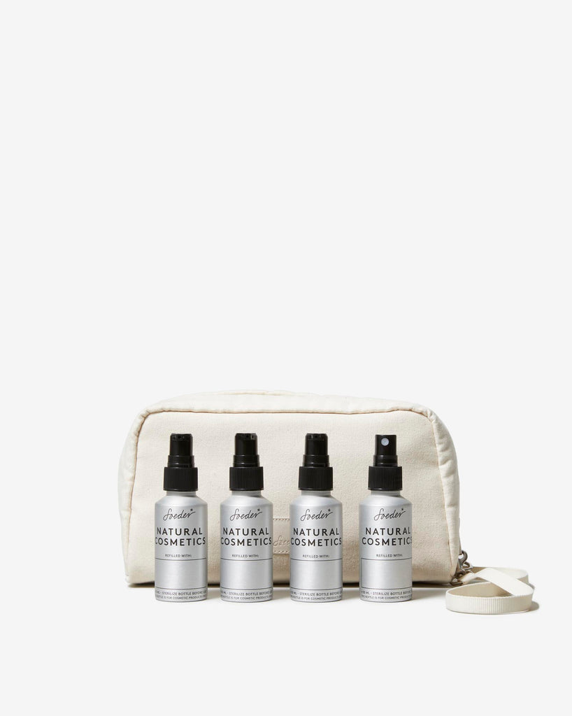 TRAVEL SET 01 NATURAL WHITE - Soeder*