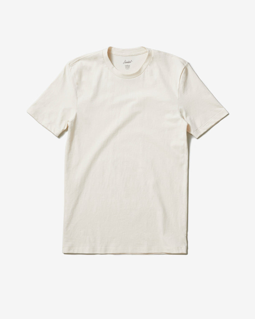 T-SHIRT 01 NATURAL WHITE - Soeder*