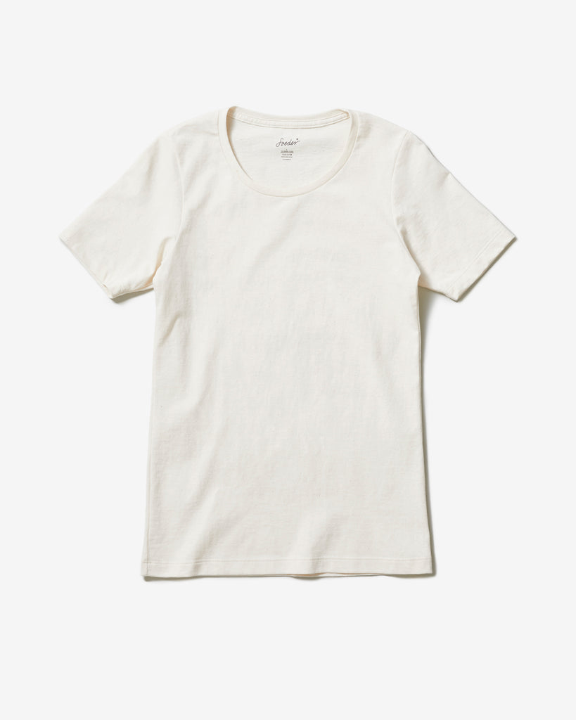 T-SHIRT 02 NATURAL WHITE - Soeder*