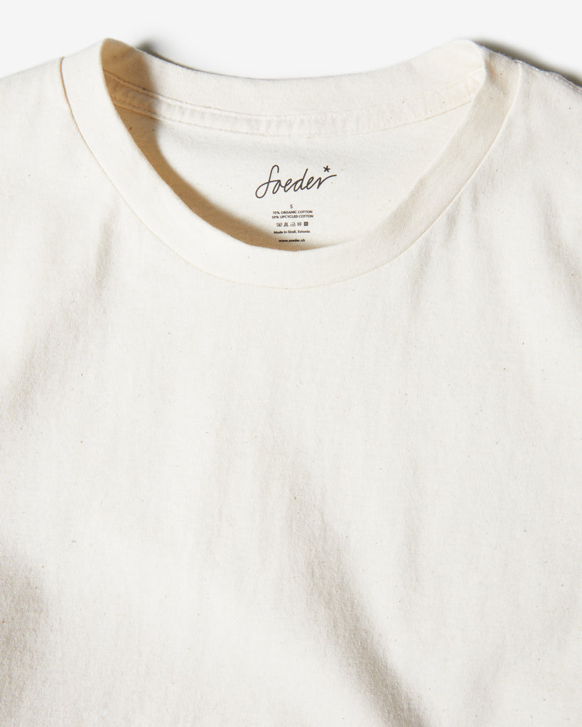 T-SHIRT 01 NATURAL WHITE