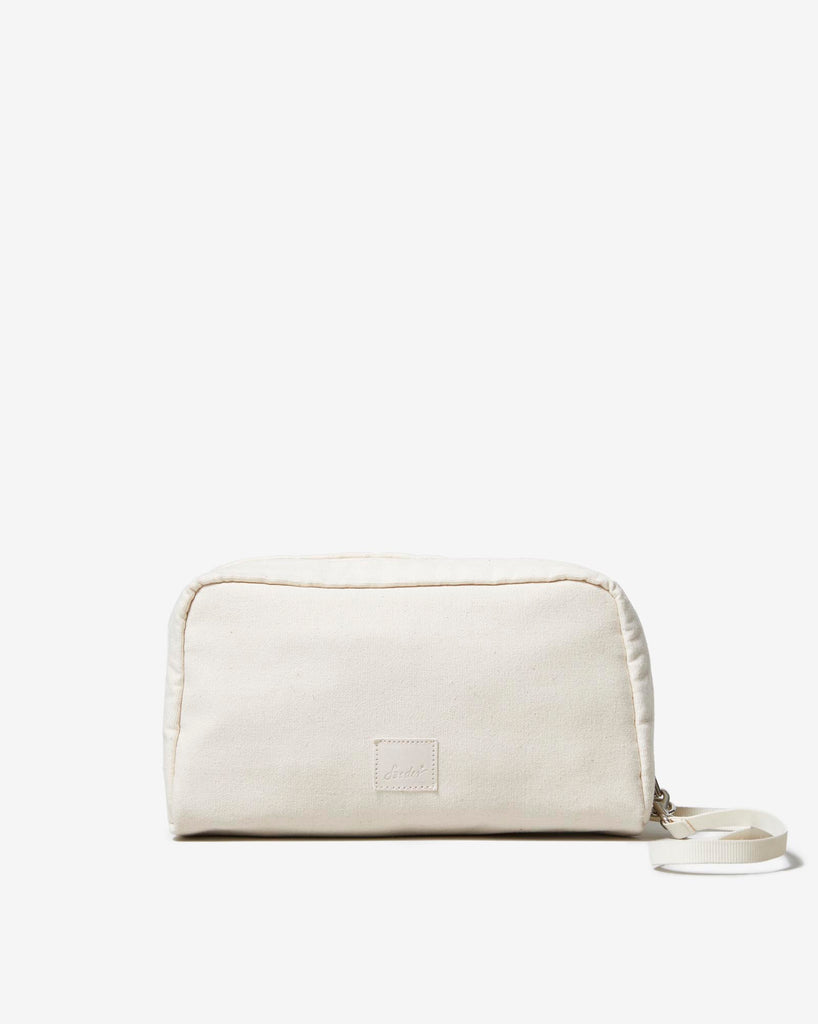 POUCH 01 NATURAL WHITE - Soeder*