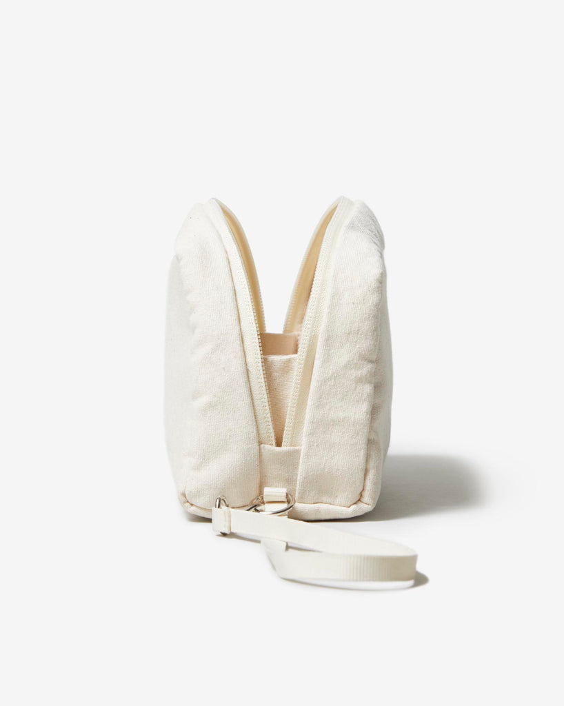 POUCH 01 NATURAL WHITE